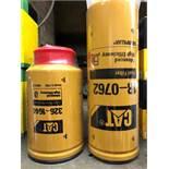 CAT fuel filter # 1R-0762 & fuel water separator # 326-1644, 2 pcs