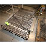 "Aprox. 67"" L x 36"" W S/S Conveyor Section, with S/S Mesh Belt (Located Pittsburgh, PA)"