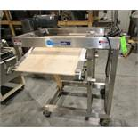 "Moline 2 - Level S/S Conveyor with Mounted 23"" W x 30"" L Inclined Belt & 5 ft L x 6"" W Through Belt,"