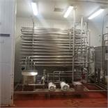 Skid-Mounted Double Tube 5 GPM Tubular Pasteurizer, Unit in New Condition / Only Ever Tested on