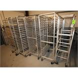 "Aluminum Bakery Racks, Holds 18"" W x 25"" L Trays (Located Pittsburgh, PA)"
