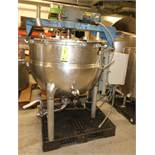 Hamilton 150 Gal Steam Jacketed S/S Kettle, S/N 1466,