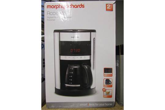 MORPHY RICHARDS ACCENTS DIGITAL COFFEE MAKER