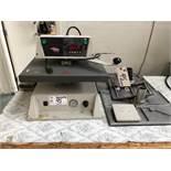 2001 INSTA Graphic Systems Professional grade heat transfer press machine,