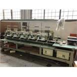 TAJIMA 1070 6 Head Embroidery Machine,