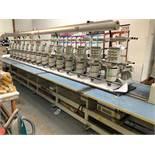 1996 BARUDAN NS-YN-15 15 Head Embroidery Machine,