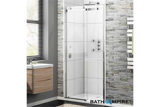 30 1000mm 8mm luxe frameless easyclean sliding for 1000mm frameless shower door