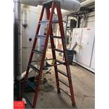 8' Fiberglass Ladder **Rigging Fee = $10
