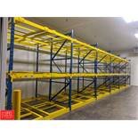 Sections of Heavy Duty Pallet Racking Rigging Fee: $1200