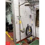 B-L-S Industries Emergency Shower & Eyewash Station Rigging Fee: $50