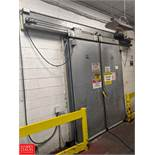 """Econo Max Cold Storage Doors Model Cascade 2000, 81"""" Width x 99""""Height Rigging Fee: $350"""