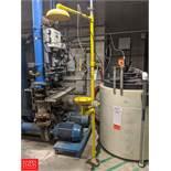 Lab Safety Supply Emergency Shower & Eyewash Station Rigging Fee: $50