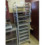 Aluminum Bakers Rack with Trays