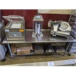"""30 x 84"""" Stainless Steel Table with 2 Drawers"""