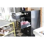 File cabinets w/ decretive cord