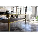 Steel frame workbench