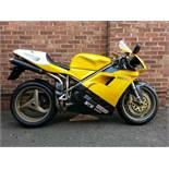 1998 Ducati 748SPS Frame no. ZDM748S007427 Engine no. ZDM748W007515