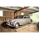 1952 Riley RMB Saloon Chassis no. 6259219