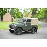 1952 Land Rover Series I Chassis no. 26105302