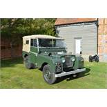1951 Land Rover Series 1 Chassis no. 26102623