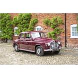 1961 Rover P4 100 Chassis no. PFRS069910