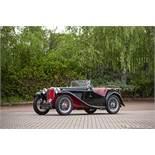 1949 MG TC Chassis no. TC8557