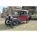 1933 Austin Seven Chassis no. 169665