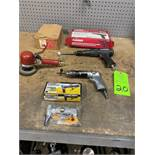 Lot of Misc Pneumatic hand tools