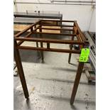 Lot of steel Work tables various sizes