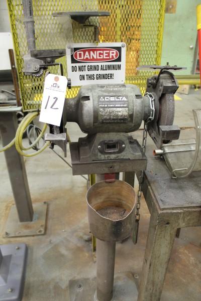 Lot 12 - Delta Double End Pedestal Grinder | Location: PM3 2nd Floor Machine Shop