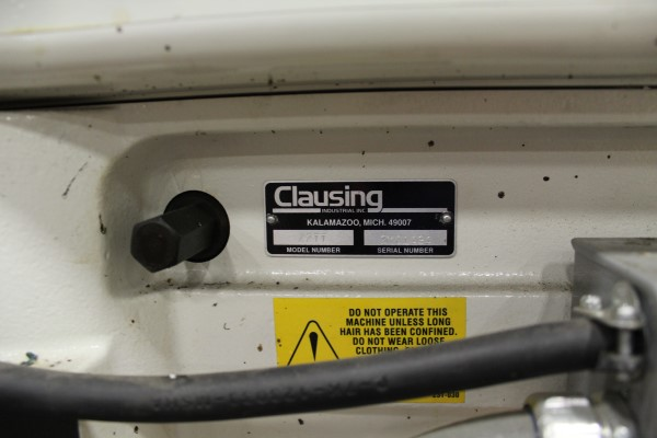 Lot 19 - Clausing Variable Speed Drill Press, M# 2277, S/N 2M01494 | Location: PM3 2nd Floor Machine Shop