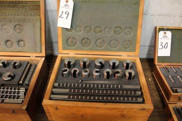 Lot 29 - Dumont Broach Set | Location: PM3 2nd Floor Machine Shop