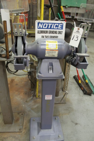 Lot 13 - Baldor Double End Pedestal Grinder | Location: PM3 2nd Floor Machine Shop