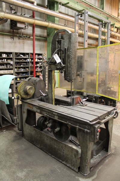 Lot 2 - Marvel Roll-In Type Vertical Band Saw, M# 8/M1, S/N 89743 | Location: PM3 2nd Floor Machine Shop