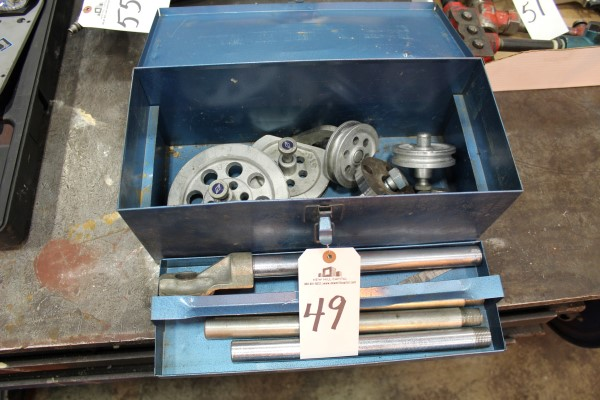 Lot 49 - Imperial-Eastman Corp. 364 FHA Tube Bender | Location: PM3 2nd Floor Machine Shop