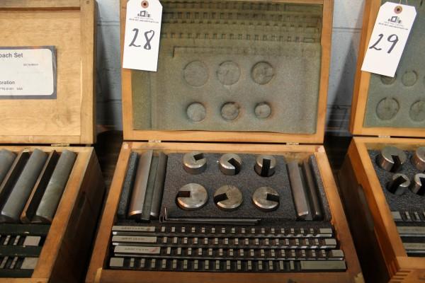 Lot 28 - Dumont Broach Set | Location: PM3 2nd Floor Machine Shop