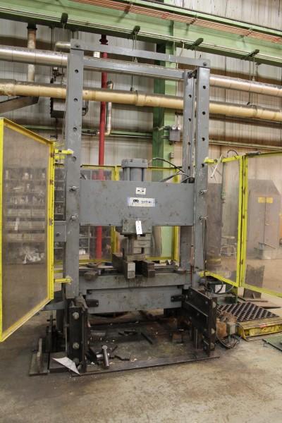 Lot 3 - OTC 150 Ton Hydraulic Shop Press, Roll In Table | Location: PM3 2nd Floor Machine Shop