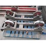 Pair of heavy duty stock rollers/rotators
