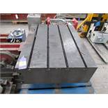 Heavy Duty grooved Machine Block/table