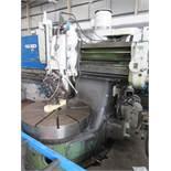 Webster & Benett multiheaded vertical boring machine
