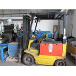 Lansing Froeris-120FFL Electric Fork Lift Truck Serial No 89116356 YOM 1989 Hours 14408 Mast closed