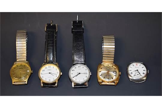 Watches a vintage 1960s Tissot Visodate Seaster Seven