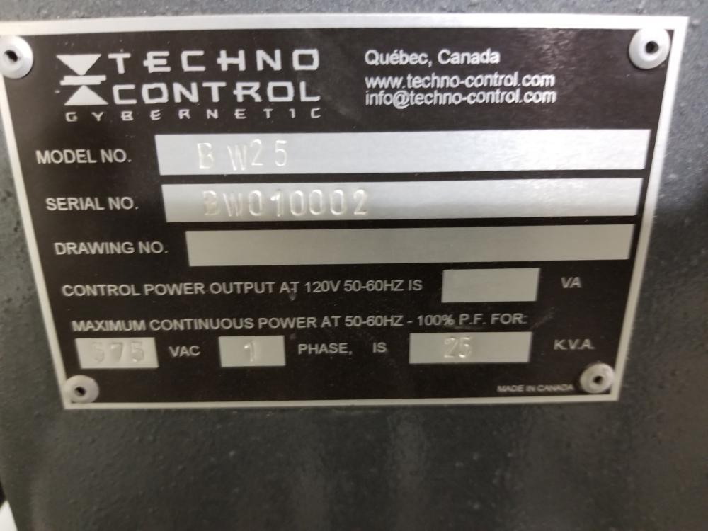 2 TECHNO CONTROL BWF35, 575 volts TECHNO CONTROL welding machines / 2 Soudeuses TECHNO CONTROL - Image 2 of 3