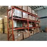 3 8' shelf sections / 3 Sections d'étagère de 8 pi