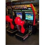 SUPER GT TWIN RACING ARCADE GAME SEGA