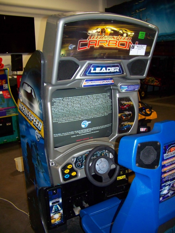 Lot 256 - NEED FOR SPEED CARBON RACING ARCADE GAME