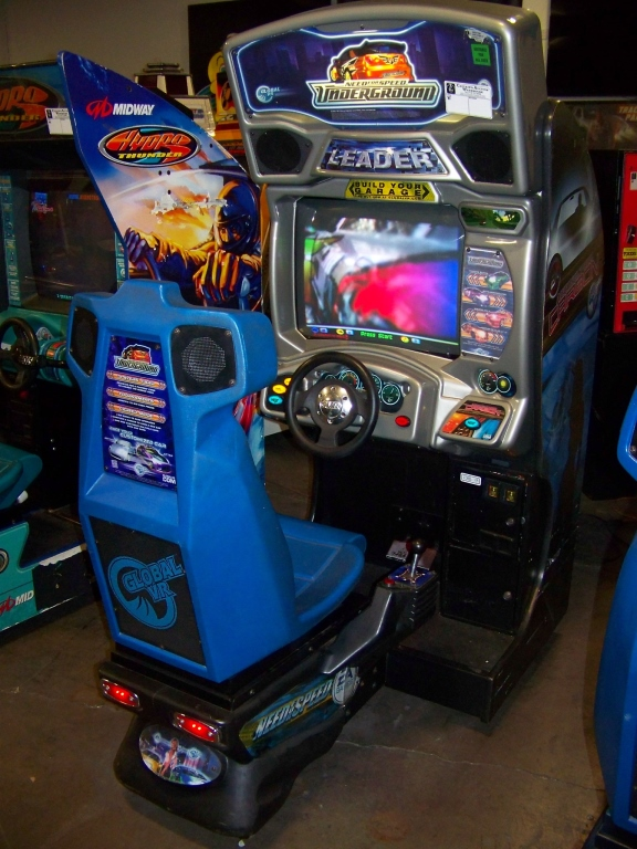 Lot 205 - NEED FOR SPEED UNDERGROUND RACING ARCADE GAME