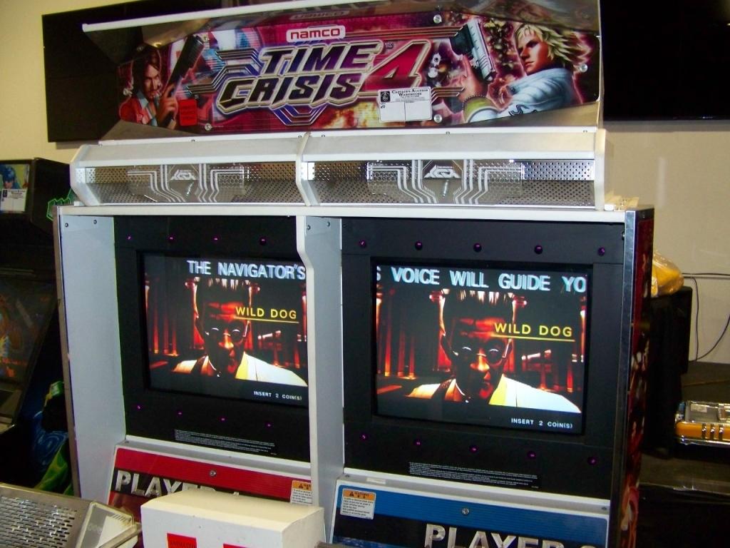 TIME CRISIS 4 TWIN SHOOTER ARCADE GAME NAMCO - Image 5 of 6