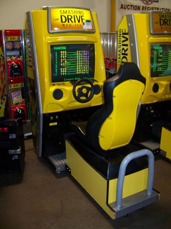 SMASHING DRIVE NYC RACING ARCADE GAME