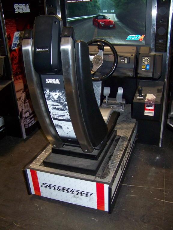 Lot 259 - INITIAL D4 SITDOWN RACING ARCADE GAME SEGA